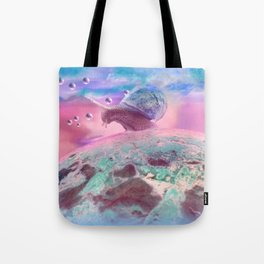 Snail country Tote Bag