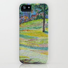 Devil's Tower Trail iPhone Case