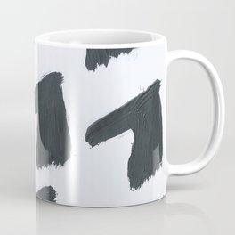 Horse, Abstract, Black & White Coffee Mug