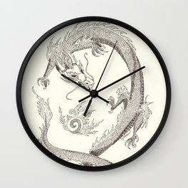 Yeouiju  (The Dragon's Orb) Wall Clock