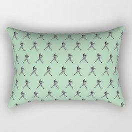 #45 Baseball Player Rectangular Pillow
