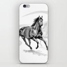 Master Hand (USA) Thoroughbred Stallion iPhone Skin