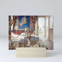 Félix Duban Architectural Fantasy in the Style of Pompeii Mini Art Print