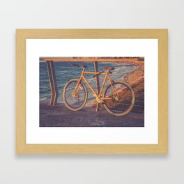 The Bike Framed Art Print