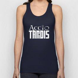 Accio Tardis Unisex Tank Top
