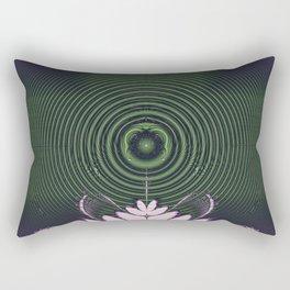 Fractal Beacon Rectangular Pillow