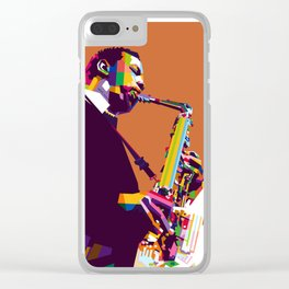 Ornette Coleman Clear iPhone Case