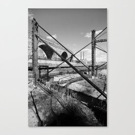 Mill District Canvas Print