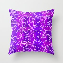 For Your Ears Throw Pillow