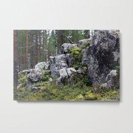 Sleeping Giant Metal Print