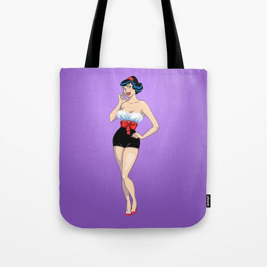 PinUp Tote Bag