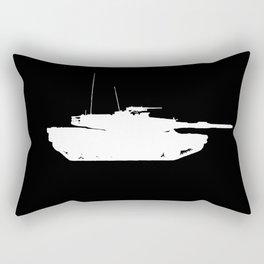 M1 Abrams Main Battle Tank Rectangular Pillow