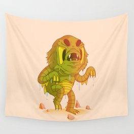 Creature From The Black Lagoon Wall Tapestry