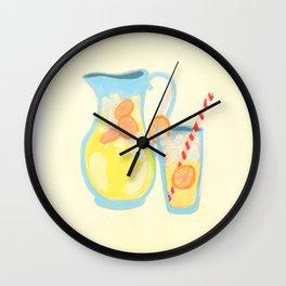 Southern Hygge: Lemonade Wall Clock
