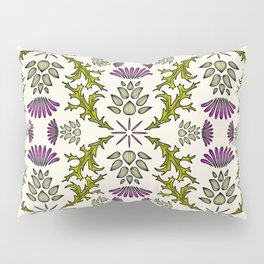 Wild Thistle Meadow Pillow Sham