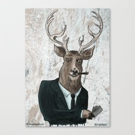 Big Bucks Canvas Print