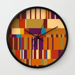 Chopin Prelude (Warm Colours) Wall Clock