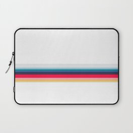 Simply Striped (white) Laptop Sleeve