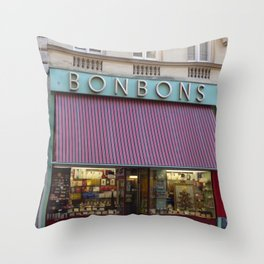 bonbons Throw Pillow