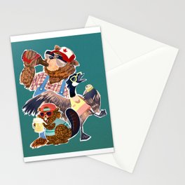 Happy Canada Day Stationery Cards