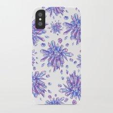 Zero Gravity Crystals II iPhone X Slim Case