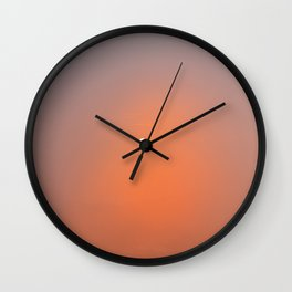 Colorful sunrise Ubud, Bali | Wanderlust fine art print photography | Sunset sky Art Print Wall Clock