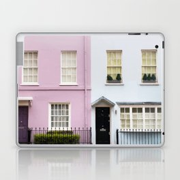 Pink and white Laptop & iPad Skin