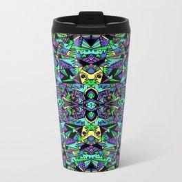 GEO-FRACTALS Metal Travel Mug
