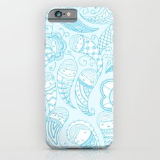 Ghostly Paisley Slim Case iPhone 6s