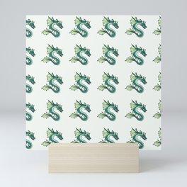 Sea Dragon Pattern 1 Mini Art Print