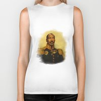 eddie vedder Biker Tanks featuring Eddie Murphy - replaceface by replaceface