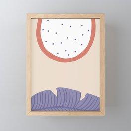 Papaya Framed Mini Art Print