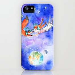 Simon and Chloe - Is there Life Beyond Music? iPhone Case