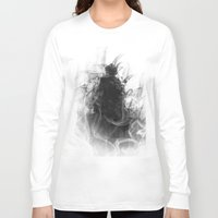 evil eye Long Sleeve T-shirts featuring Evil by Nechifor Ionut