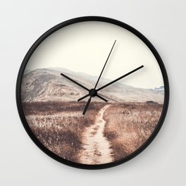 Coastal Hills Wall Clock