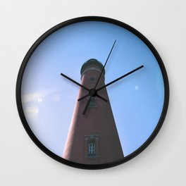 Florida Lighthouse Wall Clock