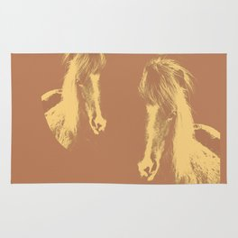 Double Pony Rug