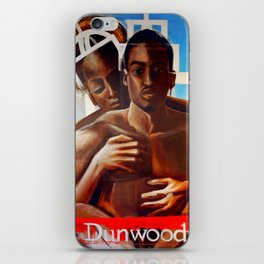 King and Queen of Concourse iPhone Skin