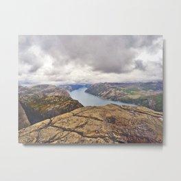 Lysefjord - Norway Metal Print