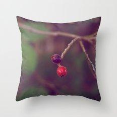 Vintage Nature Throw Pillow