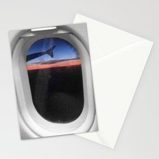 Airplane Window Stationery Cards