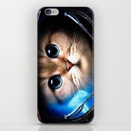 Cat astronaut iPhone Skin