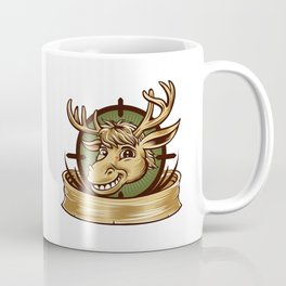 Cartoon Deer mascot  Coffee Mug