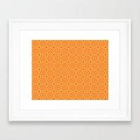 pumpkin Framed Art Prints featuring Pumpkin by TRUA