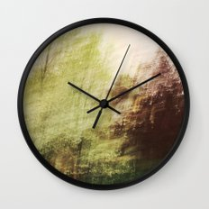 Trees in a dream Wall Clock