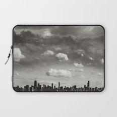 Chicago Skyline - Lone Cloud Laptop Sleeve
