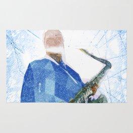 Live Music Poster Rug