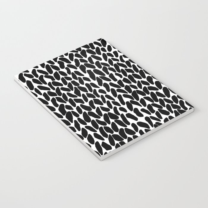 Hand Knitted Black S Notebook