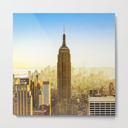 Empire State Building (The City) Metal Print