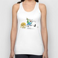 finn and jake Tank Tops featuring Finn & Jake by Dan Bingham